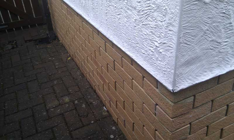 Brick Slips and Insulated Render